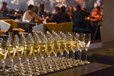 Алкохолни напитки за сватбени тържества, събития и партита.